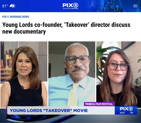 """""""Takeover"""" Interview on PIX11 News"""